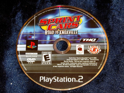 Playstation 2 Game: Sprint Cars: Road to Knoxville