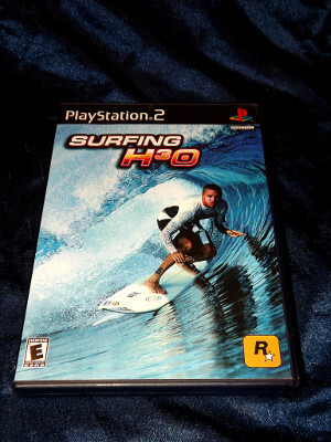 Playstation 2 Game: Surfing H3O