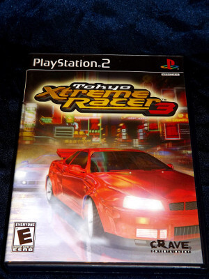 Playstation 2 Game: Tokyo Extreme Racer 3