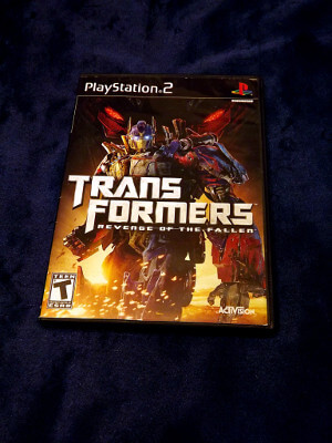 Playstation 2 Game: Transformers: Revenge of the Fallen