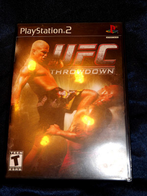 Playstation 2 Game: UFC Throwdown