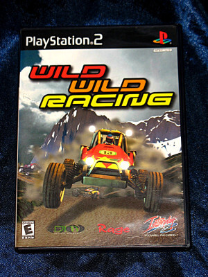 Playstation 2 Game: Wild Wild Racing