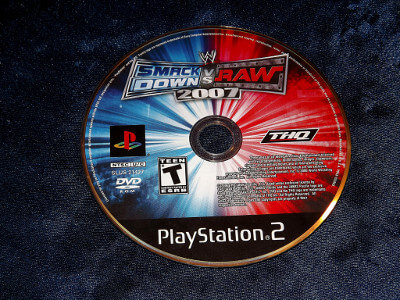 Playstation 2 Game: WWE Smackdown vs. Raw 2007