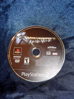 Playstation 2 Game: X-men 2: Wolverine's Revenge