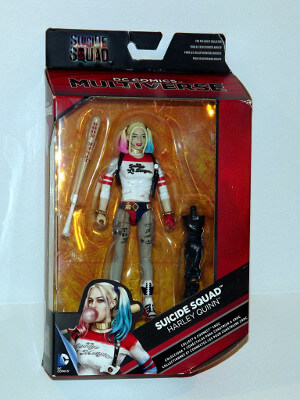 DC Comics Action Figure: Harley Quinn from Suicide Squad