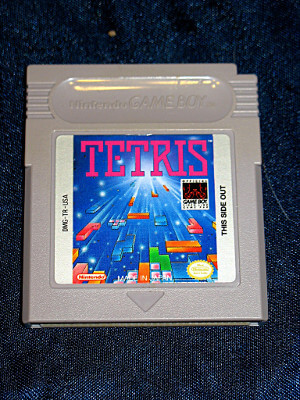 Nintendo Game Boy Game: Tetris