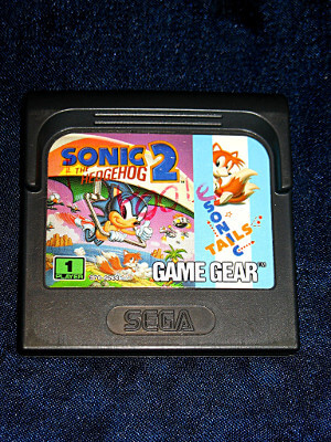 Sega Game Gear Game: Sonic the Hedgehog 2