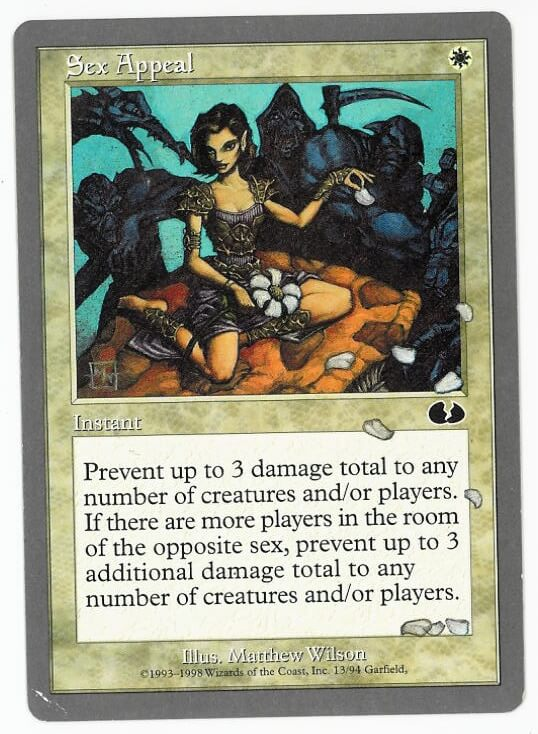 Sex card magic the gathering